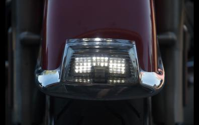Front Fender Tip Light in White Led.
