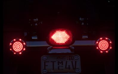 Tail Light with Turn Signals as brake and running light