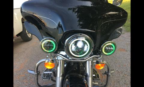 RGB Headlight &Passing Lamps
